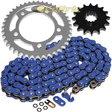 Blue O-Ring Drive Chain & Sprockets Kit Fits HONDA VTR1000F Superhawk 1998-2005