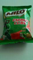 100pcs Milo Cube Nestle genuine Crunchy Energy Snack Malted Cocoa Malaysia-HALAL