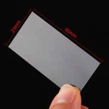 100x New Blank Microscope Square Cover Glass Coverslip Slides Lab Set 24X50mm