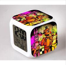 Hot! LED Alarm Clock FNAF Five 5 Nights at Freddy's Colorful Color Alarm Clock 3