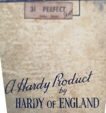 """HARDY ANTIQUE FISHING REEL """"PERFECT 3 5/8"""" ORIGINAL PACKAGING GOOD CONDITION"""