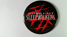 Rare movie button collection: STEPHEN KING'S SLEEPWALKERS / 5 pinbacks in all!