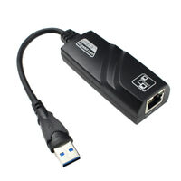 USB 3.0 to Gigabit Ethernet RJ45 LAN (10/100/1000) Mbps Network Adapter PZ QWNNN