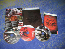 The Witcher 1 PC oggi già culto rarità USK 18 SPECIALE EDITION STEELBOOK