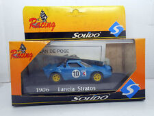 COCHE LANCIA STRATOS SOLIDO RACING REF 1906 METAL MODEL CAR RALLY 1/43 METAL