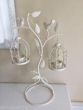 Da appendere doppio con perline Birdcage Tè Leggero Supporto Decorazione Matrimonio caratteristica principale/