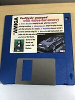 CU Amiga Magazine Cover Disk 28 Print studio Mineclearer  TESTED WORKING