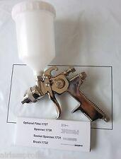 Pulverizador de pistola Alimentación por Gravedad Hvlp 1.4mm Boquilla Plus Gratis Pistola de pie.