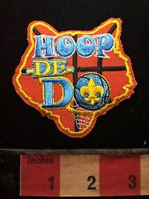 Hoop It Up With The Boy Scout HOOP DE DO Basketball Patch S73J