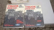 1987 MEDIUM HEAVY DUTY TRUCK ENGINE AND CHASSIS SHOP SERVICE MANUAL