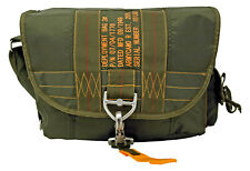 Military Tactical Parachute Satchel Messenger Deployment Bag Army Green NWT