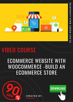 Ecommerce Website With WooCommerce -Build an ecommerce Store video training