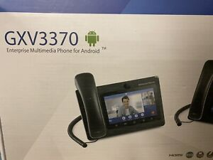 *NEW*Grandstream GXV3370 IP Video Phone with Android
