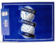 Tappeto Birmingham City Stampato Camera Da Letto Tappetino b'ham Blues Crest TEAM FOOTBALL CLUB