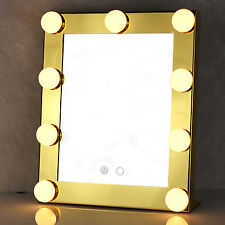 Vanity Lighted Hollywood Makeup Girls with Lights Dimmer Stage Beauty Mirror CD