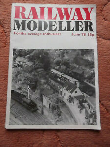 Railway Modeller Magazine June 1978 Used but in good condition for age