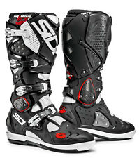 SIDI Crossfire 2 SRS 2016 Black White Motocross BOOTS 48