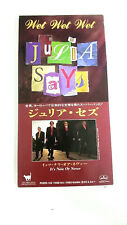 """WET WET WET JULIA SAYS IT'S NOW OR NEVER PHDR-142 3"""" JAPAN CD A5112"""