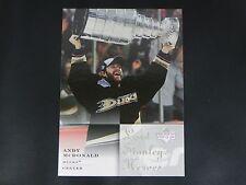 2007-08 Upper Deck UD Lord Stanley's Heroes #5 Andy McDonald Anaheim Ducks