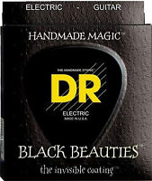 DR Strings BKE-9 Black Beauties Black Coated Electric Guitar Strings 9-42