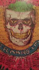 Flaming Lips poster Original Wayne Coyne silkscreen 1994