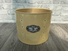 """More details for pearl vision birch tom drum shell 10""""x8"""" bare wood project / upcycle"""