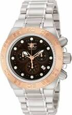Invicta Men's 10846 Sport Subaqua Chrono 100M Stainless Steel Brown Dial Watch
