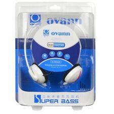 Ovann OM31MW Professional Behind the Head Hi Fi stereo Headphones (White)