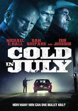 COLD IN JULY DVD - USA - BRAND NEW AND FACTORY SEALED - FAST SHIPPING