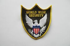 WORLD WIDE SECURITY APPLIQUE PATCH