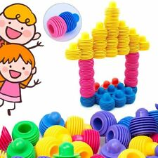 Kids Children Toys - Screw Small Interlocking Colorful Toy Piece