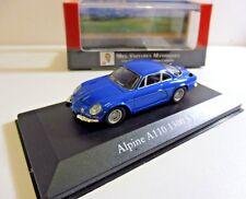 """Alpine A110 1300 S 1971 Bleu 1/43 IXO """"Mes Voitures Mythiques"""" Produit NEUF !"""