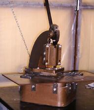 Diacro Model 2 Tab notcher/ Strippit Model 2HN 6 x 6 inch notcher fo up to 16 Ga