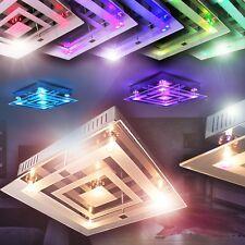 Plafonnier LED Lampe de séjour Lustre Lampe suspensin Changeur de couleur 143232
