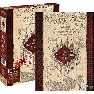 Aquarius Harry Potter Marauder's Map Puzzle 1000 Pieces