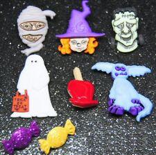 Dress It Up Botones ~ ~ Zany Zombies Halloween Collection ~ tambaleante ojos