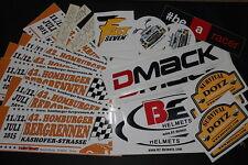 Adhesivo Kit Carrera De Montaña Dmack B2 Cascos Casco Rápido Seven Aprillia