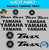 Yamaha T Max plaquette décoration  Stickers autocollants adhésifs