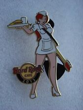 ONLINE 2013 LE 75 (RARE) UNIFORM PIN UP GIRL #2 of 3 HRC pin #73690