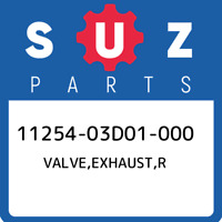 11254-03D01-000 Suzuki Valve,exhaust,r 1125403D01000, New Genuine OEM Part