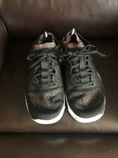 Adidas Womens Lace Up Training Boost Running Sneakers Black/Pink Size 8 606004