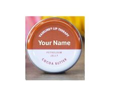 Personalised Vaseline Lip Therapy Tin (COCOA BUTTER)