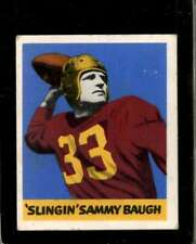 1948 LEAF #34 SAMMY BAUGH VG+ RC ROOKIE REDSKINS HOF  *J0013