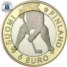 Finnland 5 Euro Münze 2012 PP Eishockey WM 2012, Stockholm in CoinCard