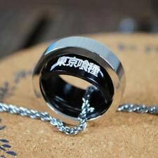 Japan Anime Tokyo Ghoul Metal Finger Ring Necklace Pendant chains #2