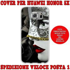 Cover per Huawei Honor 5X case custodia protettiva tpu fantasia DONNA MASCHERA