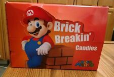 Super Mario Brick Breakin' Candies Full Case, 18 Tins, MINT & SEALED