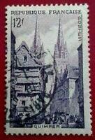 France:1954 New Daily Stamps 12 Fr. Rare & Collectible Stamp.