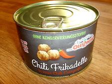 Chili scharfe Frikadelle mit Chili -Currysoße 400gr Konserve  ( 1kg 9,75€)