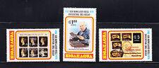 Nicaragua 1980 Alfabetizacion on R. Hill  Michel 2160-2162  mint never hinged